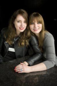 Chantal en Priscilla van gastel -