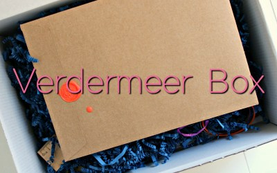 Unboxing | Limited Edition Verdermeer-box