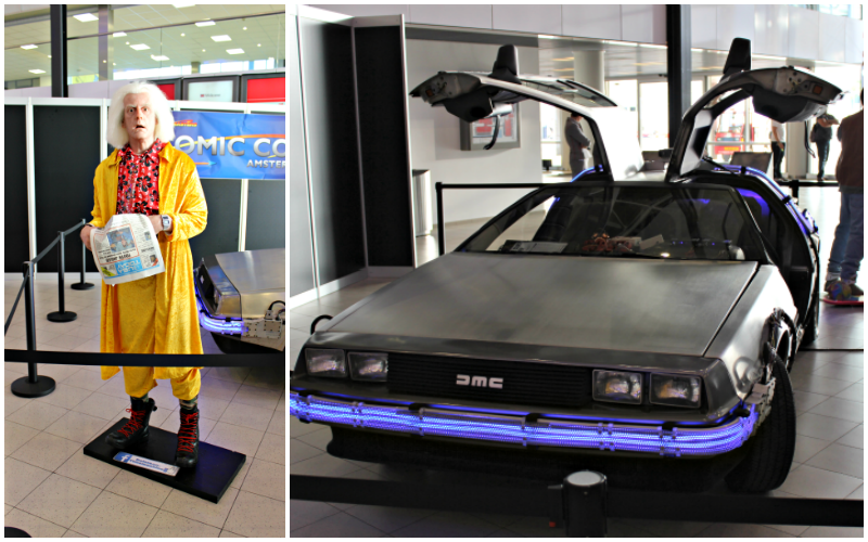Amsterdam Comic Con - Entree DeLorean