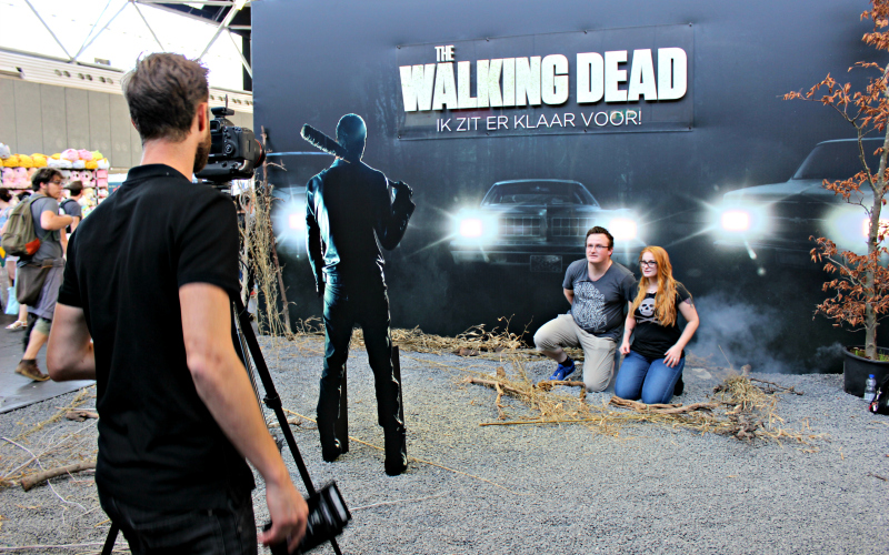 Amsterdam Comic Con The Walking Dead