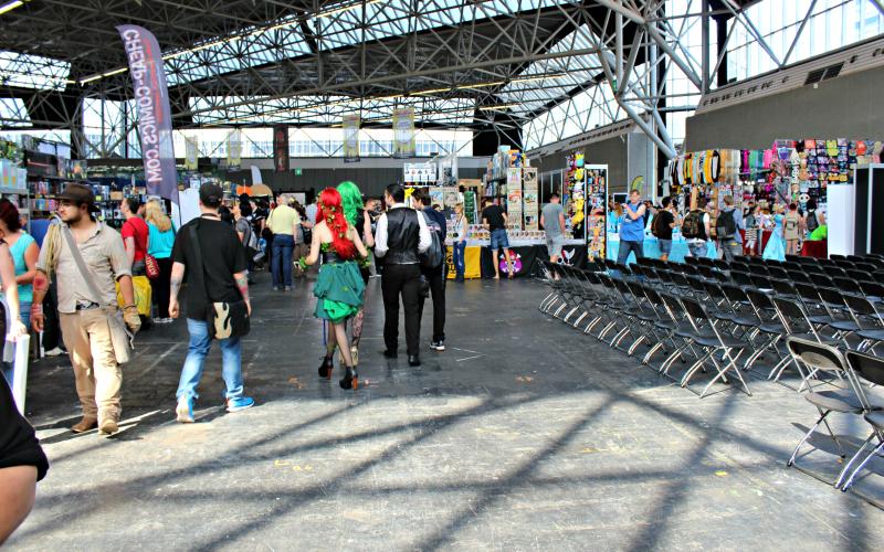 Amsterdam Comic Con hal