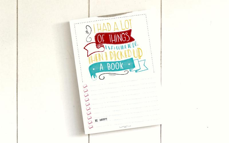 Celebrate Books All the Feels - Notitieblok