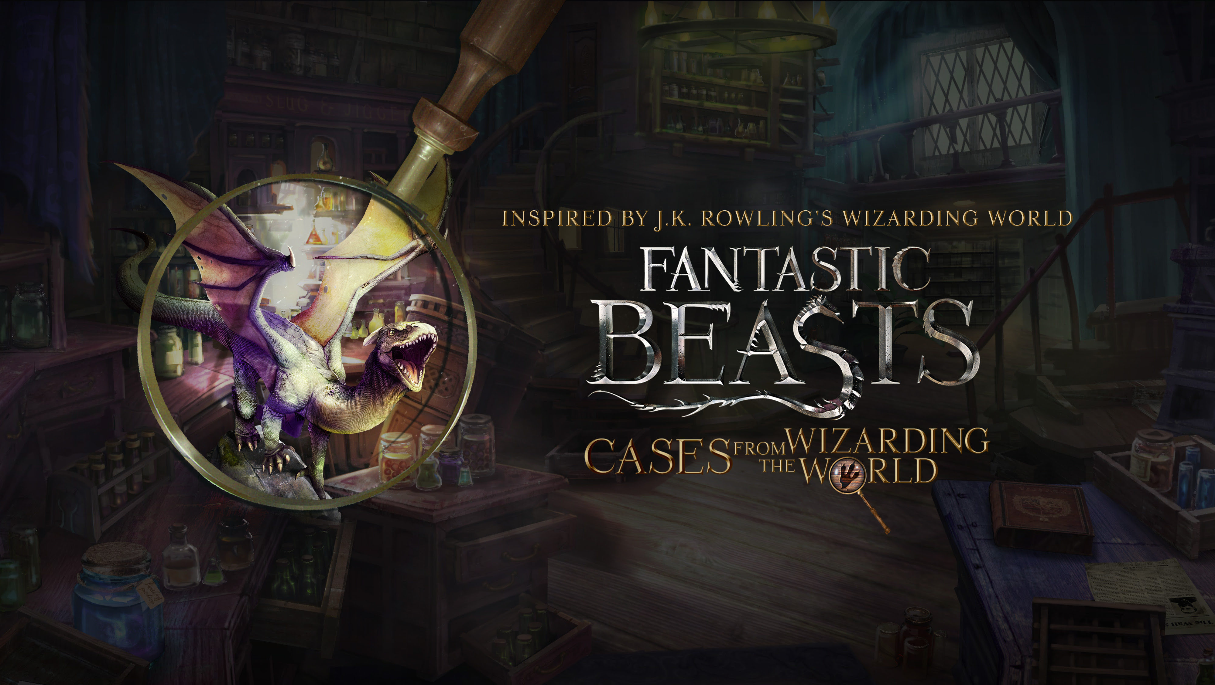 Fantastic Beasts: Cases from the Wizarding World mobiele game