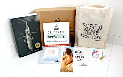 Unboxing | Celebrate Books – Glitter & Glamour