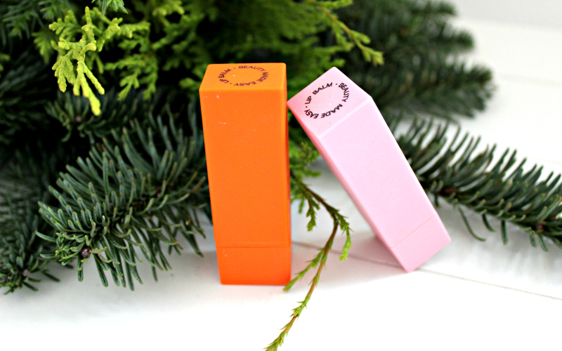 Beauty Made Easy - Lip Balm Set Happy Holidays