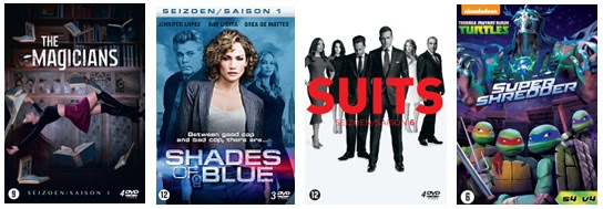 The Magicians - Shades of Blue - Suits - Super Shredder