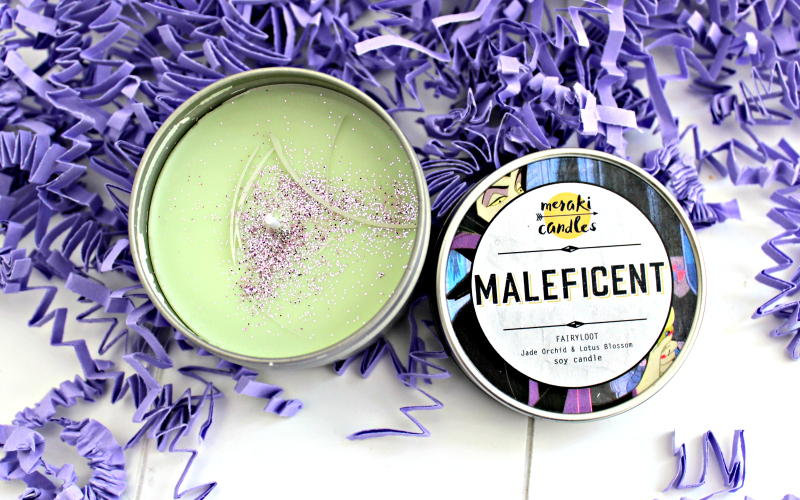 Exclusive Maleficent Candle