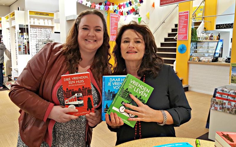 Jessica met Astrid Harrewijn