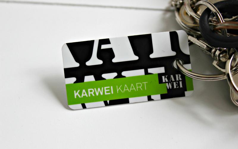 Karwei klantenkaart