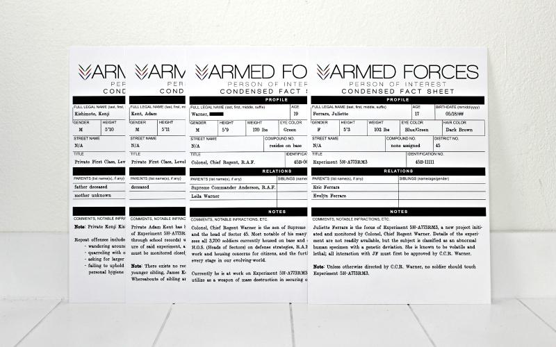 Condensed Fact Sheet