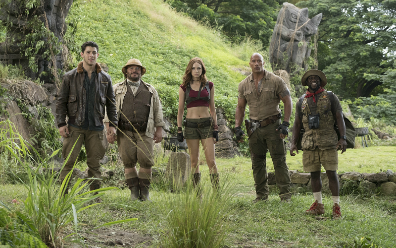 Jumanji: Welcome to the Jungle still