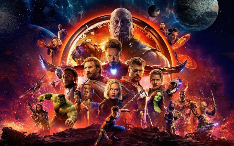 Avengers Infinity War still
