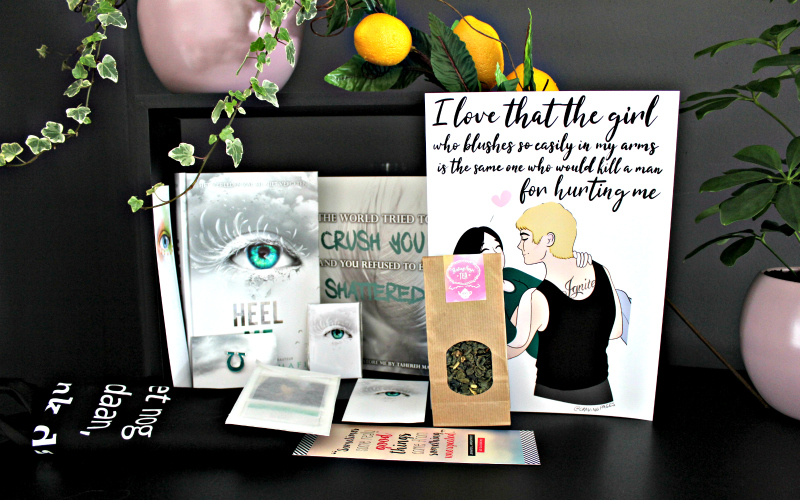 Unboxing | Celebrate Books – Tahereh Mafi Special: Heel Me