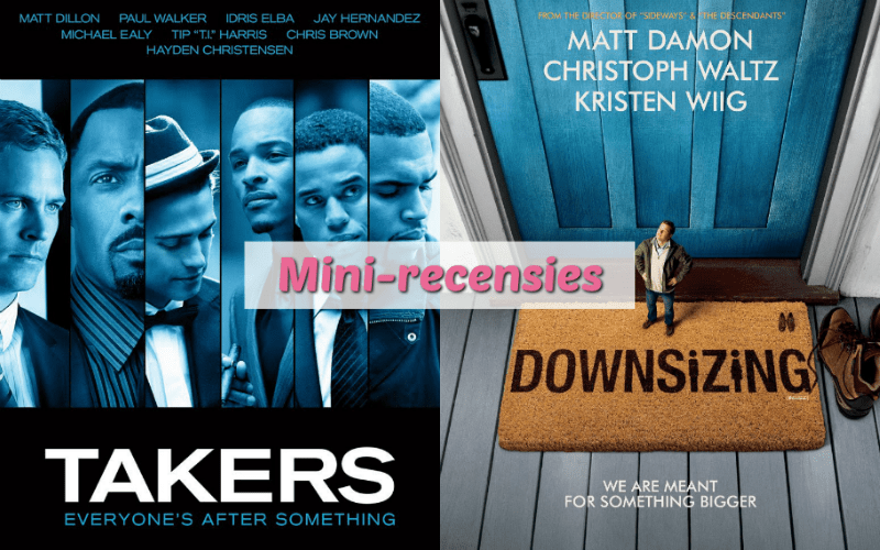 Mini-recensie - Takers - Downsizing
