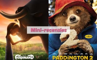 Mini-recensies #5 | Ferdinand & Paddington 2