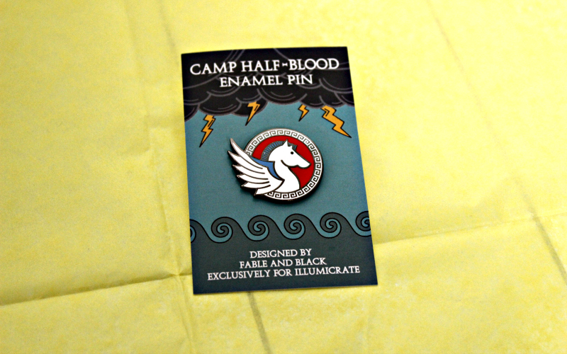 Camp Half-Blood Enamel Pin