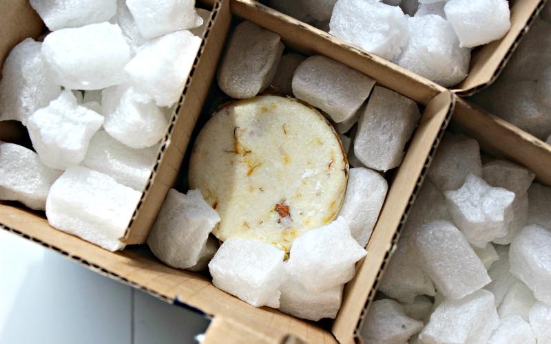 Verpakking Lush
