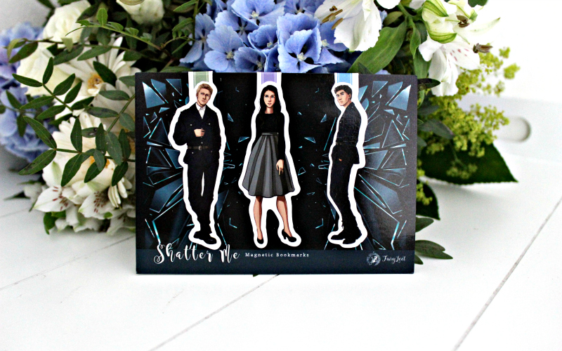 Exclusive Shatter Me Magnetic Bookmarks