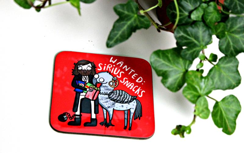 Sirius Snacks Coaster