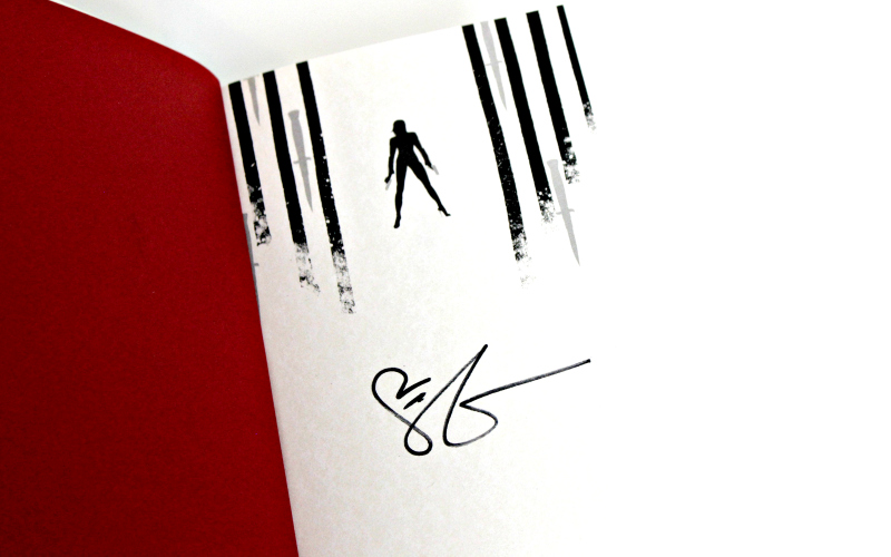 Handtekening V.E. Schwab