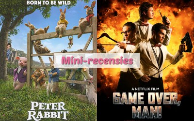 Mini-recensies #9 | Peter Rabbit & Game Over, Man