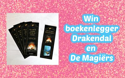 FEEST | Win een boekenlegger van Drakendal en De Magiërs {Afgelopen}
