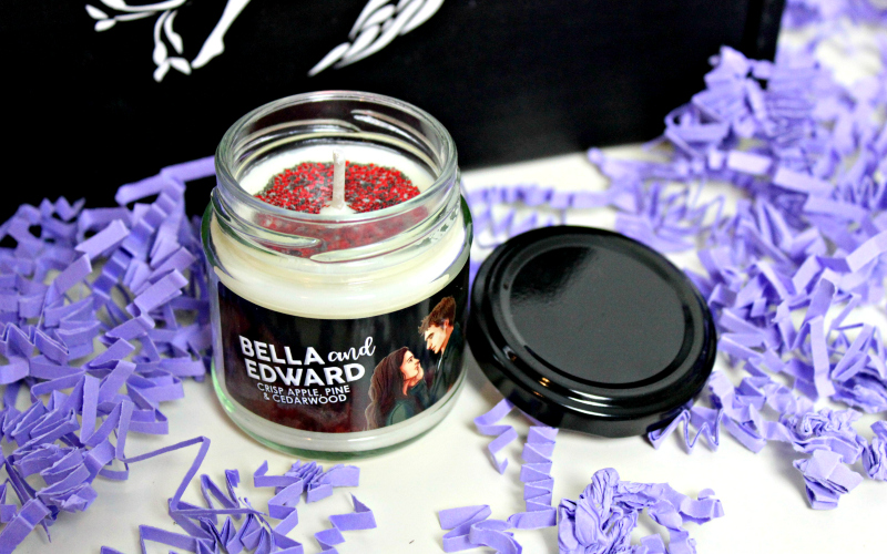 Bella and Edward Candle