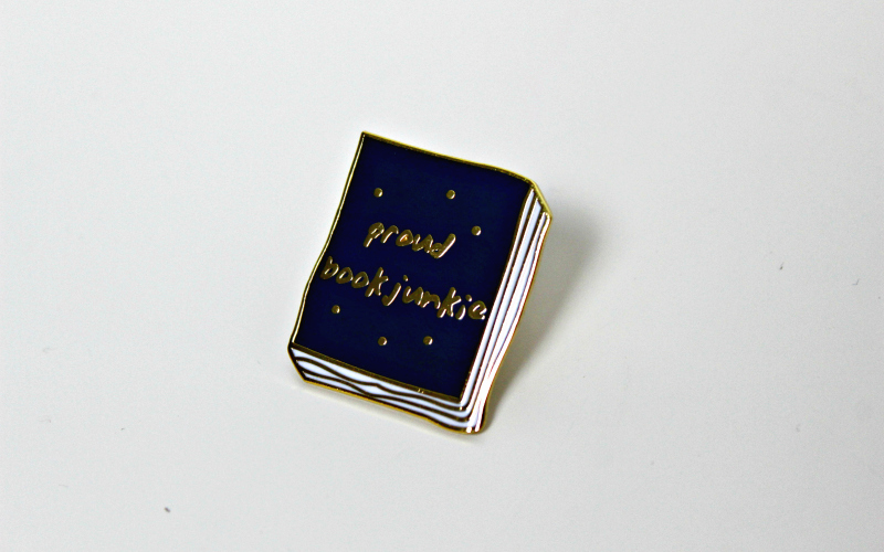 Pin Proud Bookjunkie