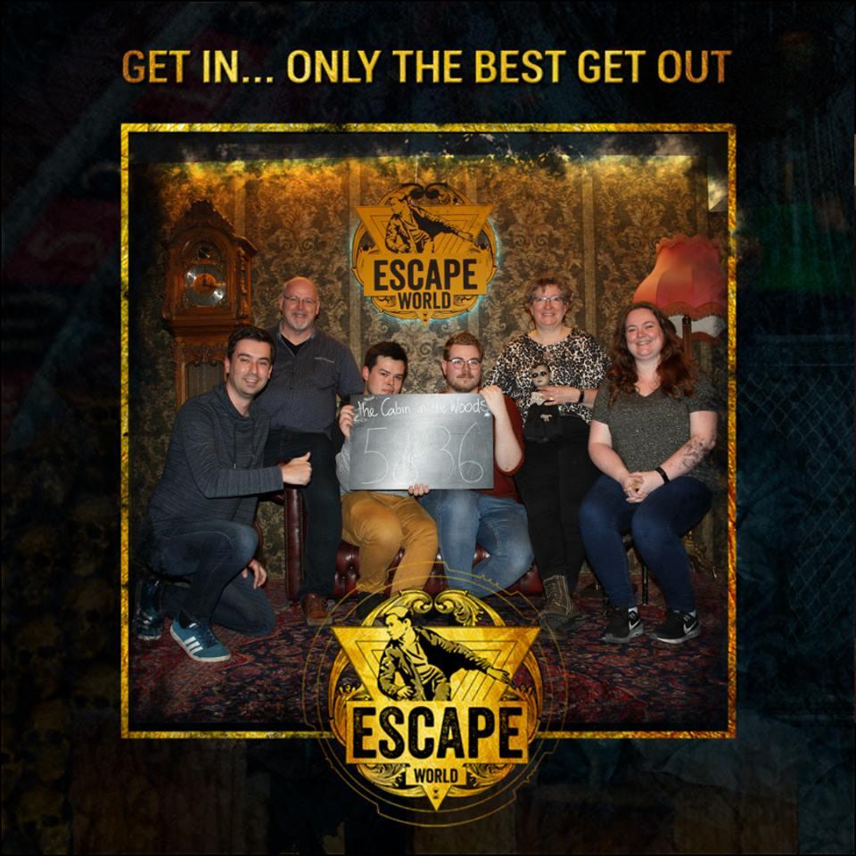Escape World Amsterdam - Cabin in the Woods