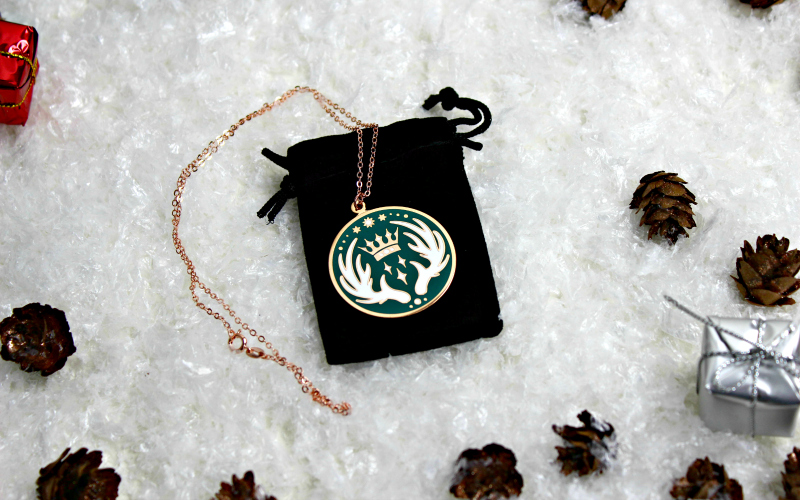 Stag Amulet Necklace