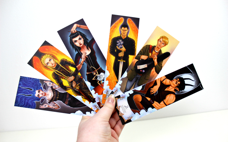 Character Bookmark Set