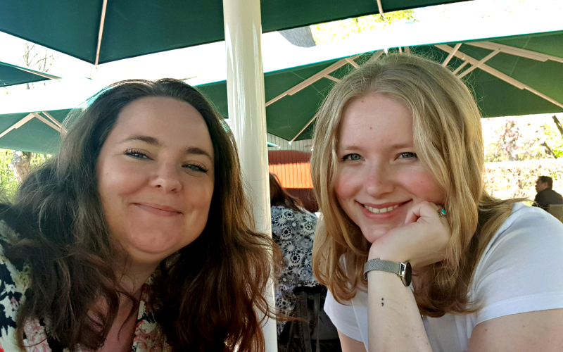 Jessica en Katja