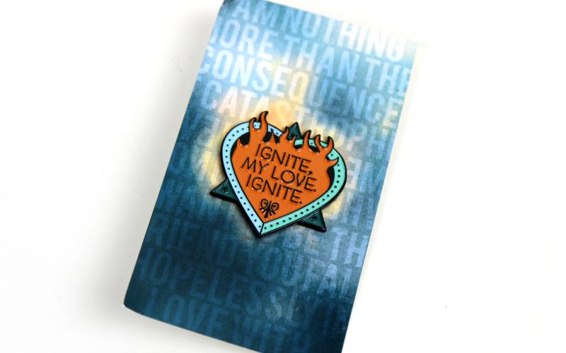 Ignite my love Ignite pin
