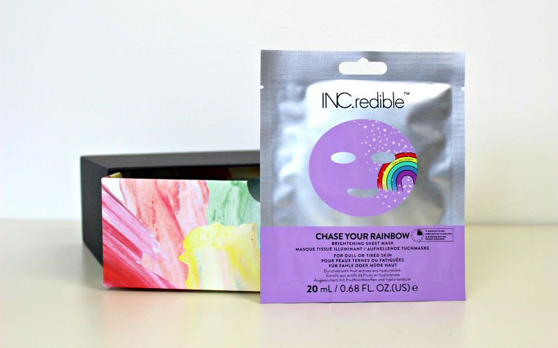 Inc.redible - Chase Your Rainbow Sheet Mask