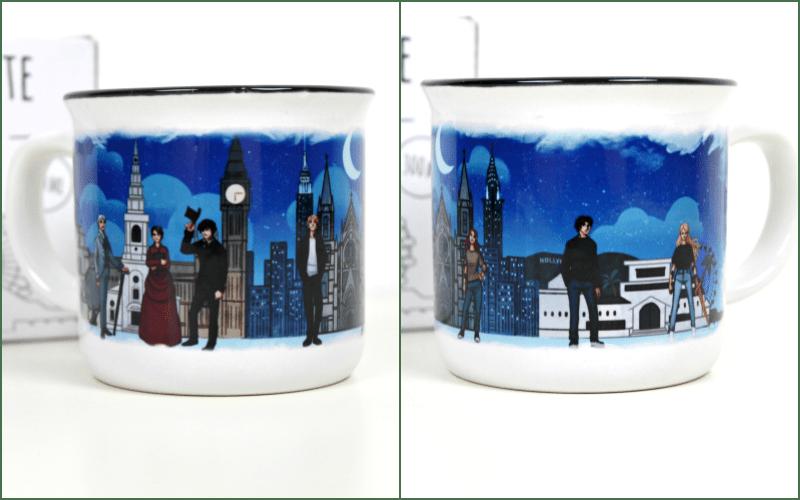 Shadowhunters ceramic mug