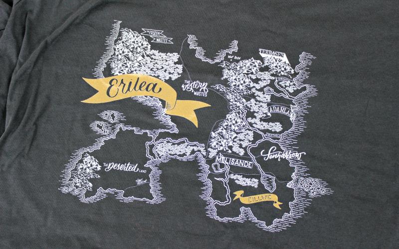 Shirt Erilea Map