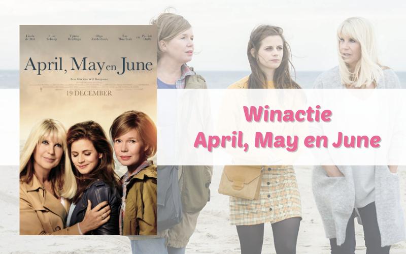Winactie April, May en June