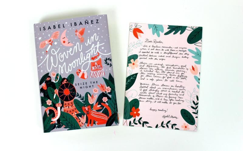 Woven in Moonlight - Isabel Ibanez