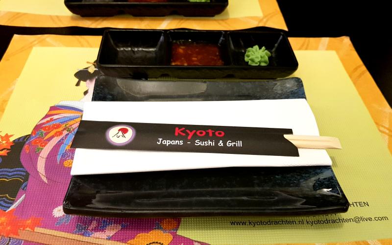 Uit eten Kyoto