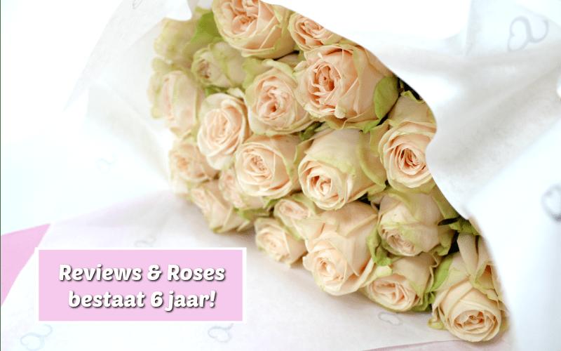 Reviews and Roses 6 jaar