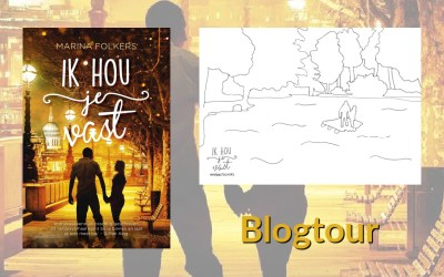 Blogtour | Een kleurplaat bij 'Ik hou je vast'