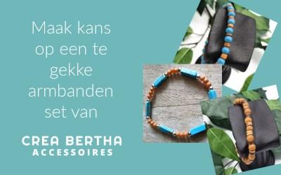 Win deze leuke set armbanden van Crea Bertha