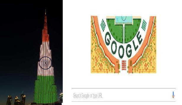 Burj-Khalifa-Google-Doodle-celebrates-68th-republic-day-of -india