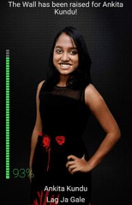 Ankita Kundu Bangalore Rising Star Contestant 2017 Season 1