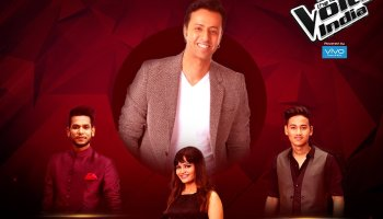 Blockbuster Live Round The voice india 2017