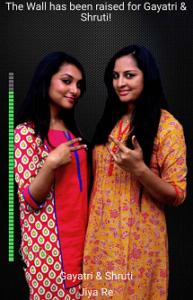 Gayatri & Shruti Rising Star Contestant 2017 Season 1