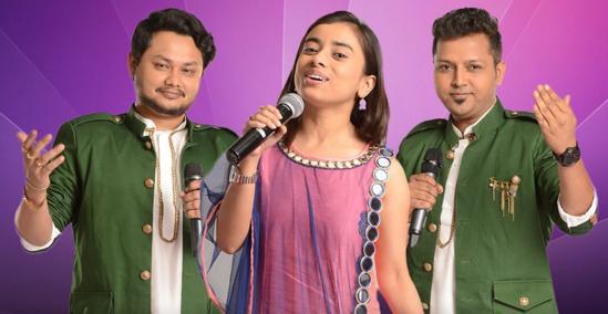 Rising-Star-2017-Duets-Challenge-Humsufi and Shreyasi