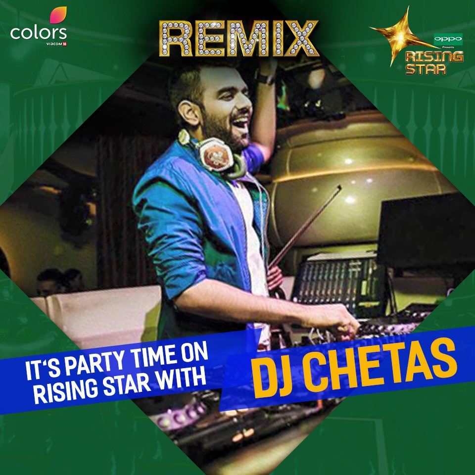 Remix Special in Rising Star India with DJ Chetas