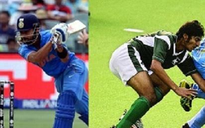 IndiaVsPakistanCricket-Hockey-Fathers day London