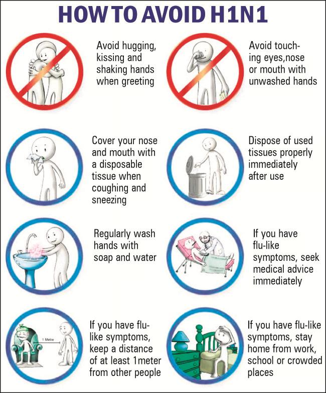 swine flu preventive measures